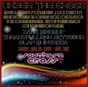 Under the cross