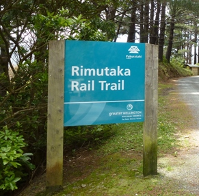 Rail Trail Sign